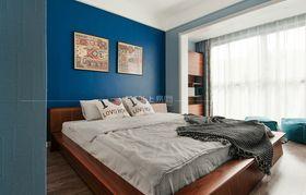 110平米三室一廳現代簡約風格臥室效果圖