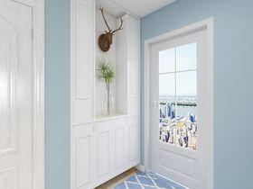 90平米三室两厅地中海风格玄关装修效果图