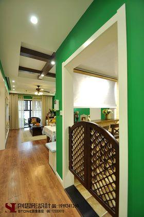 經濟型80平米三室兩廳美式風格走廊圖