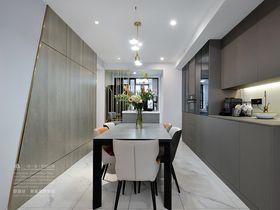 100平米三室两厅现代简约风格客厅设计图