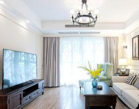 10-15万110平米三室两厅混搭风格客厅设计图