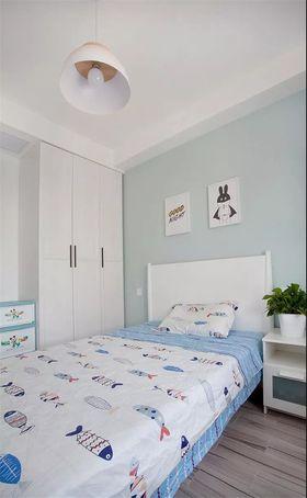 110平米三室一厅北欧风格卧室图片大全