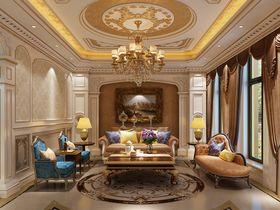80平米别墅法式风格客厅图片大全