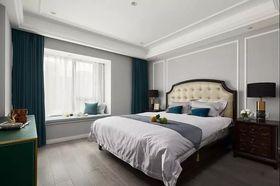 140平米四室两厅美式风格卧室装修案例