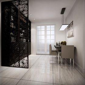 140平米四室兩廳現代簡約風格書房設計圖
