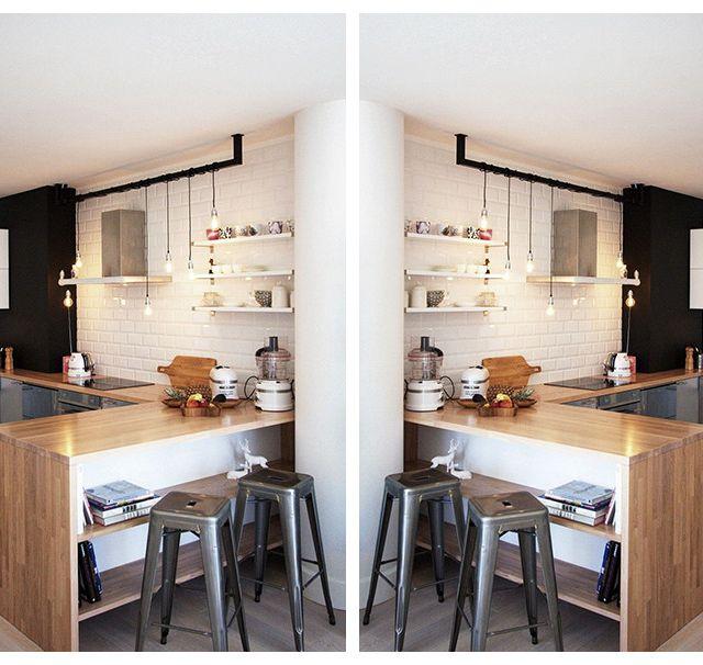 北欧风格吧台设计原则,北欧风格吧台装修要点