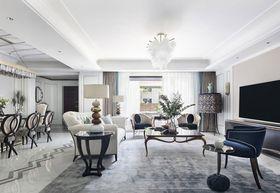 90平米三室兩廳美式風格客廳欣賞圖