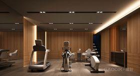 20万以上140平米别墅现代简约风格健身室图片大全