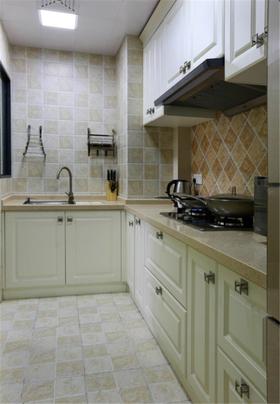 经济型80平米三室两厅地中海风格厨房装修效果图