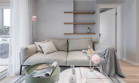 70平米一室一厅北欧风格客厅装修案例
