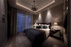 130平米三室一厅新古典风格卧室欣赏图