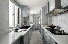 豪華型140平米三室兩廳美式風格廚房裝修案例