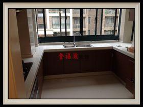 经济型110平米三室一厅现代简约风格餐厅图