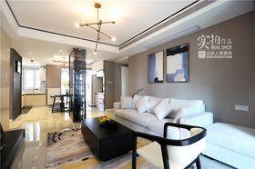 130平米四室两厅现代简约风格阳台图片大全