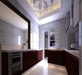 100平米三中式风格厨房欣赏图