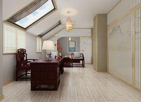 140平米一室一厅中式风格走廊效果图
