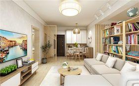 120平米三日式風格客廳裝修案例