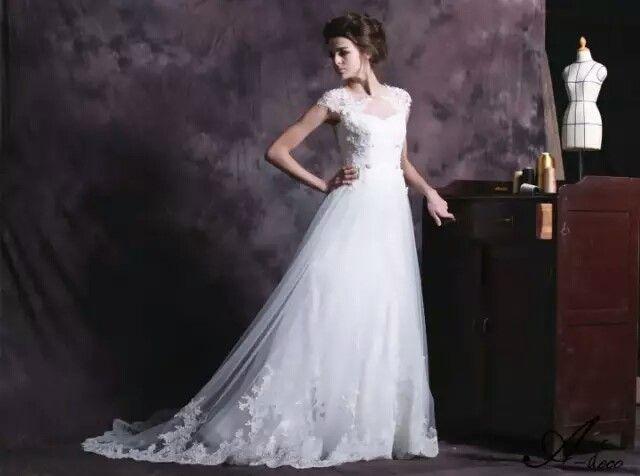 一生一次的婚礼多长的婚纱才合适