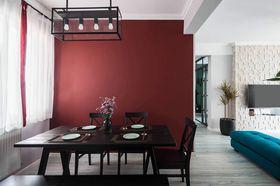 140平米四室两厅英伦风格餐厅图片