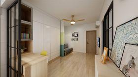 30平米小户型日式风格客厅设计图