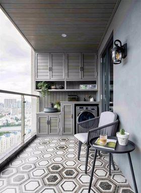 120平米现代简约风格阳台欣赏图