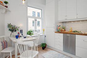 60平米一室一厅北欧风格厨房装修图片大全