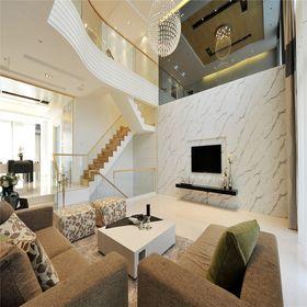 140平米三室两厅其他风格客厅装修案例