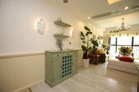 120平米三室两厅地中海风格客厅设计图