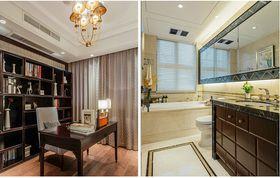10-15万140平米四室两厅混搭风格书房设计图