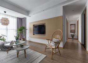 100平米三室两厅北欧风格客厅图