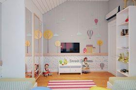140平米三室一厅法式风格儿童房设计图
