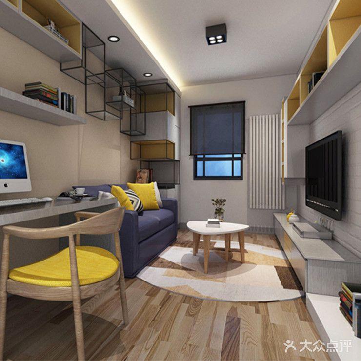 50平米小户型现代简约风格学校设计图合肥有哪些室内设计的客厅图片