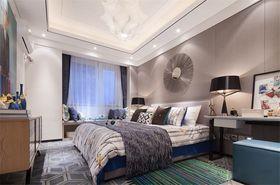 富裕型140平米三室两厅现代简约风格卧室设计图