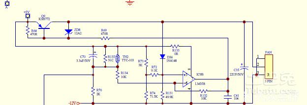 排风扇电路图是什么样的?