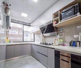130平米四室两厅北欧风格厨房设计图