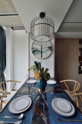 110平米三室两厅中式风格餐厅效果图