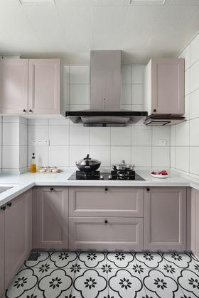 110平米三室一厅北欧风格厨房图