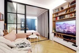 40平米小戶型現代簡約風格客廳圖