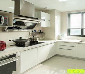 经济型80平米三室两厅现代简约风格厨房图片