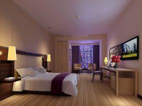 5-10万80平米三室两厅现代简约风格卧室图