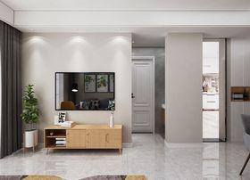 90平米三室一厅现代简约风格走廊装修效果图