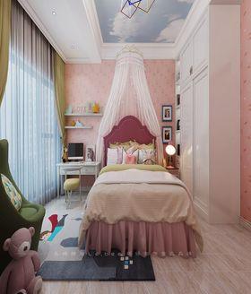 140平米三室两厅欧式风格儿童房装修图片大全