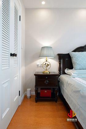 100平米三室兩廳美式風格臥室圖片