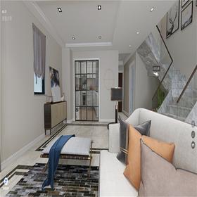 120平米三室两厅其他风格楼梯间装修效果图