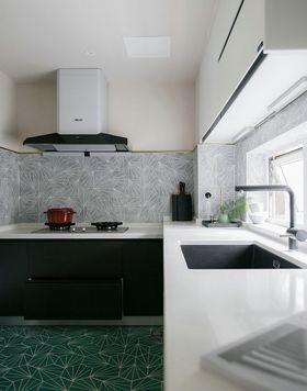 140平米四混搭风格厨房图