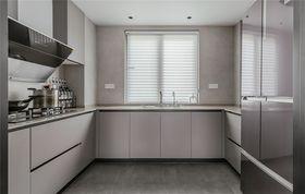 140平米四室一廳現代簡約風格廚房裝修案例