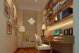 豪华型140平米别墅混搭风格书房装修案例