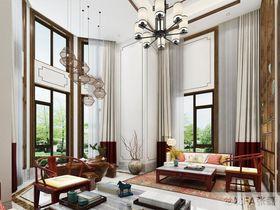 140平米別墅中式風格客廳效果圖