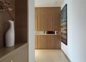 130平米四室两厅现代简约风格玄关效果图