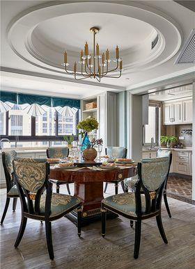 120平米四室两厅欧式风格餐厅装修图片大全